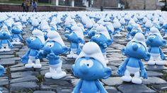 Os 'Smurfs comunistas' que geraram polêmica sobre liberdade de ensino no Uruguai #timbeta #sdv #betaajudabeta