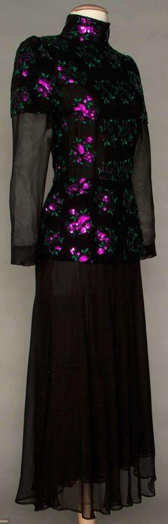 Thea Porter Evening Dress, 1970s,