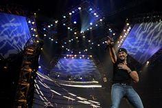 Luke Bryan performs at the Houston Livestock Show and Rodeo, RodeoHouston, Reliant Stadium on Saturday, March 16, 2013, in Houston, Texas.  Photo by Karen Warren / Houston Chronicle