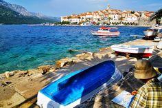 Korcula-Korcula Island-Croatia   Painting Korcula by CitizenFresh
