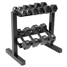 CAP Barbell Hex Dumbbell Set with Rack, 150 lb, Black, http://www.amazon.com/dp/B016C665UY/ref=cm_sw_r_pi_awdm_x_55gVxbX32XT9P