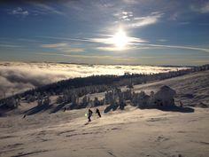 View from Big White, Kelowna