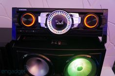 Samsung Giga Sound MX-FS9000 speakers