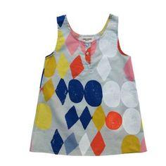 Harlequin Dress by Bobo Choses | Mash 'N' Gravy