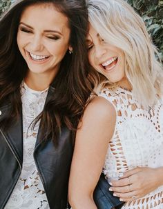 Nina Dobrev and Julianne Hough
