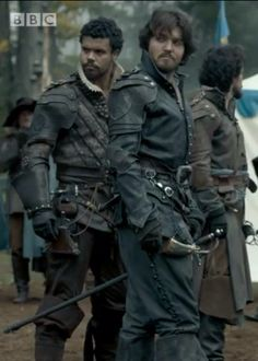 The Musketeers - Porthos, Athos & Aramis