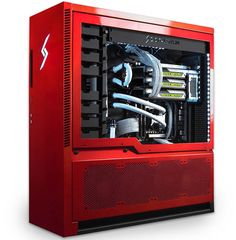 Digital Storm today announced the launch of AVENTUM the company's most advanced PC to date. The AVENTUM 3 is a custom high-performance enthusiast grade desktop PC featuring some of the top components available in the Gaming Computer Setup, Gaming Pc Build, Computer Build, Gaming Pcs, Gaming Desktop, Computer Case, Pc Cases, Best Pc, Software