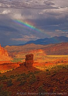 Henry Mountains and Capitol Reef National Park, Utah; photo by Greg Russell