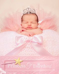 Princess of Everything newborn baby girl Wraven Design www.wraven.com