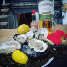 Team Four in the Bowmore Shuck off.