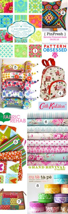 PinFresh { Pattern Obsession } Favorite Design Pins from Around the Web on FamilyFreshCooking.com