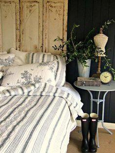 rustic bedroom decorating idea 19