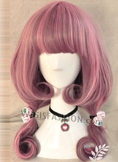 032 Japanese Style Long Wavy Mixed Purple Wig  Style Code: PL065   Color:  Mixed Purple   Size: One size   Length: 21.6 inches or 55cm   Material: Japanese synthetic fiber   Heat Resistant: 150C heat resistant   Delivery Time: 10 - 20 working days   Delivery Courier: Hong Kong Post Air Mail