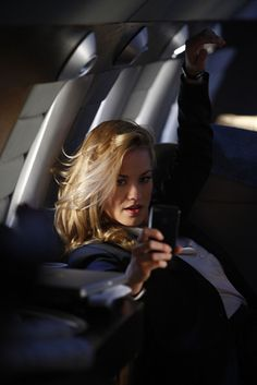Yvonne Strahovski as Sarah Walker -- this is one of the best scenes!