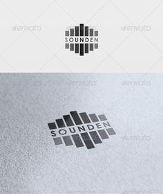 Sounden Logo  #GraphicRiver         File: -  PSD - Vector -  CMYK - Text can change