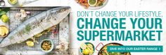 Don't change your lifestyle, change your supermarket. variety of food. Dont Change, You Changed, Easter, Lifestyle, Food, Essen, Yemek, Meals