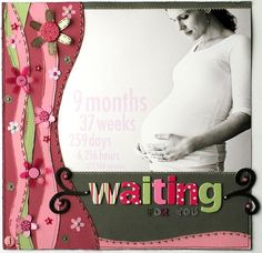 waiting for baby page