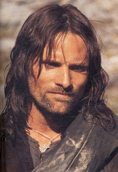 I prefer Viggo Mortensen with long hair