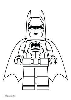 Lego Batman Lokehansen Printable Coloring Sheet 12094