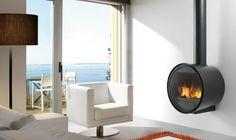 Chimenea D 7 Rocal diseño - Estufas Leña y Chimeneas Online