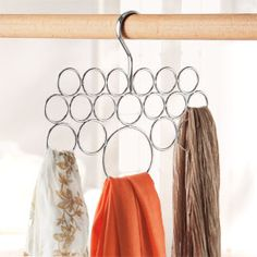 Scarf Holder, Scarf Hanger | Solutions  $10.00