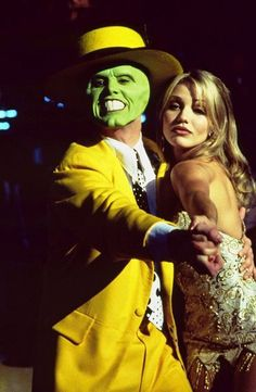 The Mask, starring Jim Carrey & Cameron Diaz in her 1st leading role