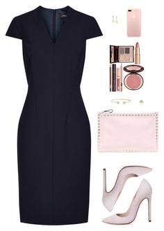 Designer Clothes, Shoes & Bags for Women Stylish Work Outfits, Classic Outfits, Office Outfits, Chic Outfits, Business Dresses, Business Outfits, Business Wear, Lawyer Outfit, Polyvore Outfits