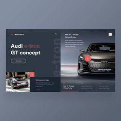 Website Design Layout, Web Layout, Layout Design, Website Designs, Audi Website, Graphic Design Brochure, Ui Design Inspiration, Design Ideas, Catalog Design