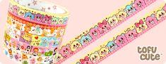 Kawaii Deco Tape - Lovable Candy Bears