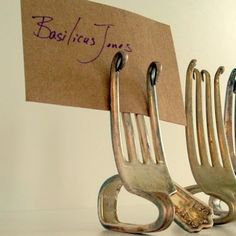 Riciclo creativo forchette