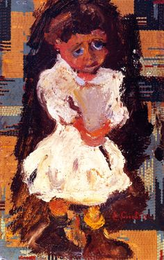 chaïm soutine(1894-1943), portrait of a child, c. 1937. oil on cardboard, 38.1 x 24 cm. private collection http://www.the-athenaeum.org/art/full.php?ID=56769; http://www.artvalue.com/image.aspx?PHOTO_ID=1142271