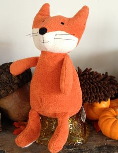 Jellycat Noodles Fox. I love these forest animal toys