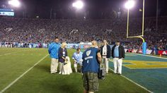 UCLA People Animal Connection at the UCLA vs. Cal Football game.