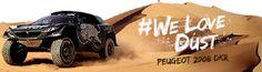 Peugeot Sport segue em caravana na 12ª etapa do Rally Dakar 2016