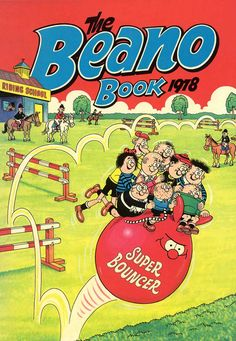 The Beano: top 20 book covers – in pictures - Top-Trends Old Comics, Vintage Comics, Vintage Books, Sci Fi Books, Comic Books Art, Funny Cartoons, Funny Comics, Comedy Comics, My Childhood Memories