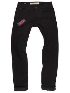 94956d47280 Tall Mens Black Jeans Selvedge American Made Jeans Long Black Jeans Men,  Denim Jeans Men