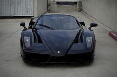 Black Enzo Ferrari