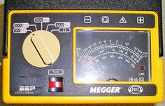 Let's talk now about three basic types of insulation resistance tests using Megger tester - short-time or spot-reading test, time-resistance method and