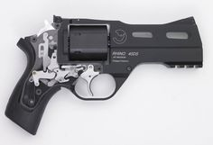 cerebralzero:  Rhino 40DS(4 inch barrel) demonstration model with exposed internal mechanisms.