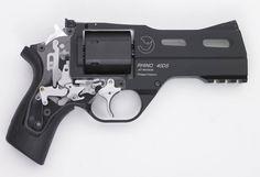 cerebralzero:  Rhino 40DS(4 inch barrel) demonstration model with exposed internal mechanisms.