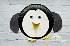 Paper Plate Penguin Kids Craft Perfect for Arctic Unit