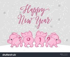 New Year 2019 : Sketching New year 2019 illustration, pig. Hand drawn logo, emblem, symbol of year, Christmas New Year 2019 : Sketching New year 2019 illustration pig. Hand drawn logo emblem symbol of year Christmas Happy New Year 2019, New Year Wishes, New Year Card, Happy New Year Funny, Happy Year, Christmas 2019, Christmas And New Year, Silvester Snacks, New Year's Eve 2020