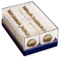 """5 Guardhouse Large Coin Holder Storage Box Holds 25 Air-Tite /""""H/"""" Capsules"""