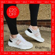 🔺 £20 off these chunky leather trainers - right on trend for this season! 🔺 Get them here 👉 www.beggshoes.com/creator-magstripe-19362-66 🔺 Sizes: 37- 40 Price: £69.99 ❗️ (Excellent value) Grey Leather, Smooth Leather, Bags 2014, Lady Grey, Sports Luxe, Leather Trainers, Pink Heels, Summer Sandals, Soft Suede