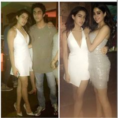 Throwback Photo: Sara Ali Khan, Jhanvi Kapoor and Aryan Khan prove they are ready to conquer Bollywood Bollywood Actress Hot Photos, Bollywood Fashion, Indian Celebrities, Bollywood Celebrities, Soha Ali Khan Wedding, Alia Bhatt Photoshoot, Chic Outfits, Fashion Outfits, Sara Ali Khan