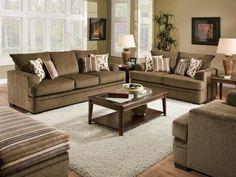 Cornell cocoa sofa set
