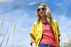 Summer Collection '15 - ISABELLA Jacket - POPI Tee - SAGE Trouser