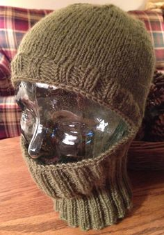 Celtic Heart Knitting and Quilting: Balaclava Helmet Liner Knitted Hats Kids, Baby Hats Knitting, Free Knitting, Knit Hats, Loom Patterns, Knitting Patterns, Crochet Patterns, Knit Crochet, Crochet Hats
