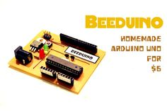 Picture of Beeduino : Homemade Arduino Uno for $6