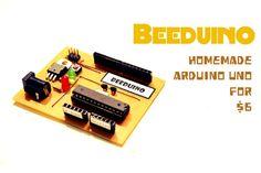 Picture of Beeduino : Homemade Arduino Uno for $6